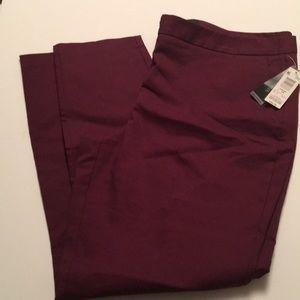 Maroon Trouser Sz 14